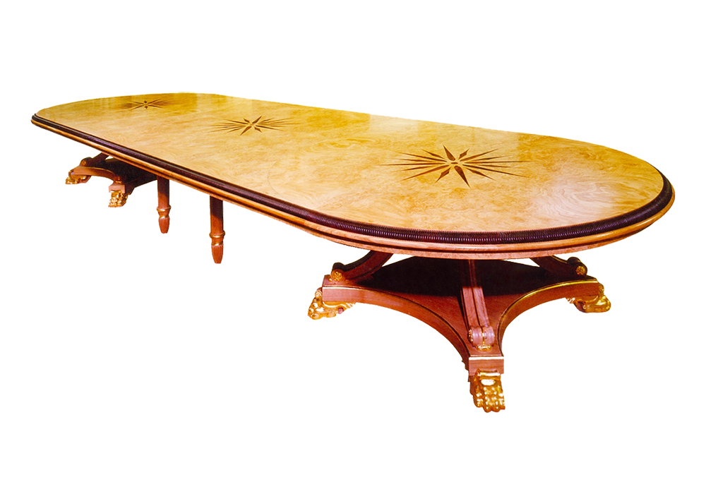 Large Starburst Table for David Hicks