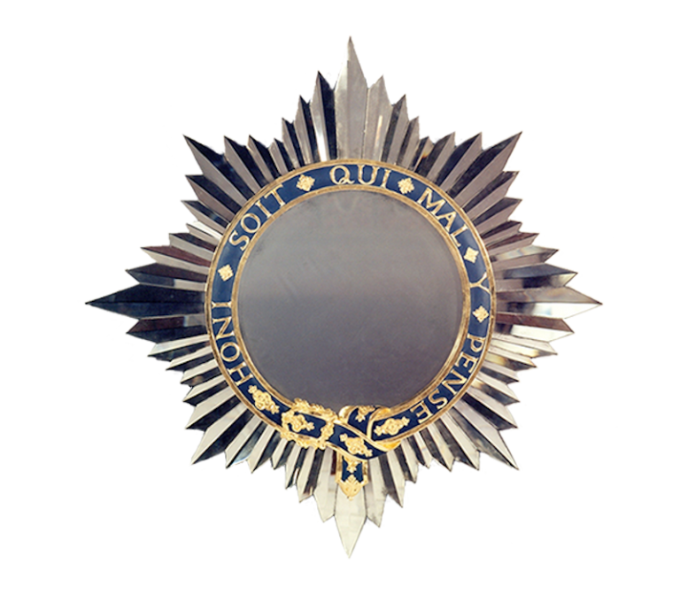 Garter Star Mirror for St. George's House Windsor Castle