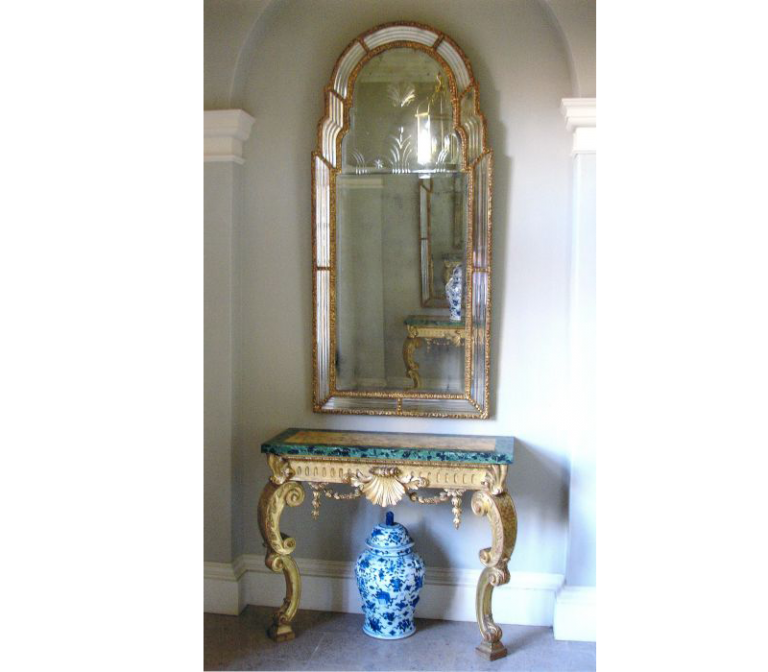 Queen Anne Mirror and Table for Whithurst Park