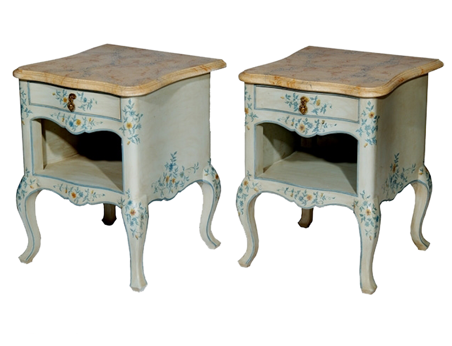 Bedside Tables for Robert Couturier