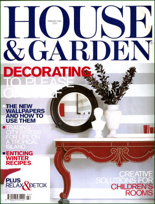 UK House & Garden Magazine Cover